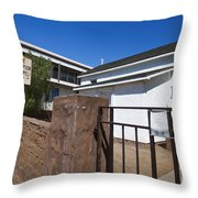 Chapel Of The Immaculate Conception Old Town San Diego Throw Pillow