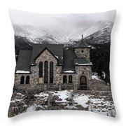 Chapel On The Rock - 3 Throw Pillow