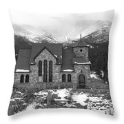 Chapel On The Rock - 5 Throw Pillow