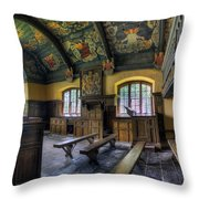 Chapel Paintings Throw Pillow