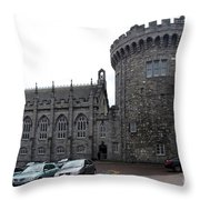 Chapel Royal And Record Tower - Dublin Castle Throw Pillow