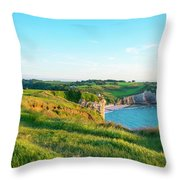 Chapelle Notre-dame De La Garde Chapel Throw Pillow