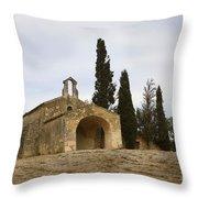 Chapelle Saint Sixte Throw Pillow
