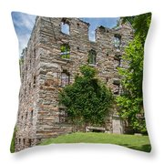 Chapman's-beverly Mill Throw Pillow by Guy Whiteley