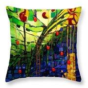 Chapple Tree Throw Pillow