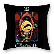 Characith - The Chariot Throw Pillow