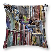 Characteristics Of New Orleans  V2 Throw Pillow