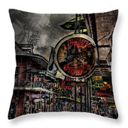 Characteristics Of New Orleans V5 Throw Pillow