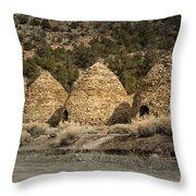 Charcoal Kilns #4 Throw Pillow