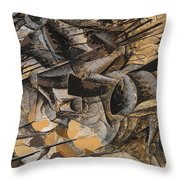 Charge Lancers Throw Pillow