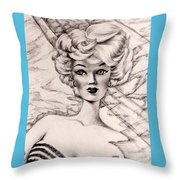 Charice Doll Throw Pillow