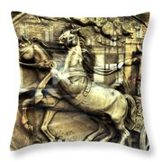 Chariot Throw Pillow