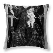 Charity, 15th Century Throw Pillow