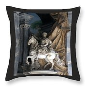 Charlemagne  Throw Pillow