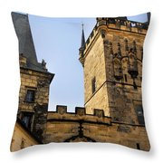Charles Bridge Prague Throw Pillow