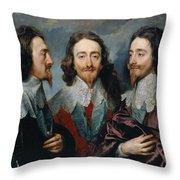 Charles I Throw Pillow