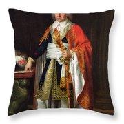 Charles Louis Francois Letourneur 1751-1817 1796 Oil On Canvas Throw Pillow