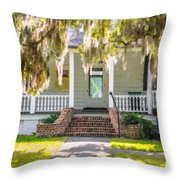 Charles Pickney Historic Site Throw Pillow