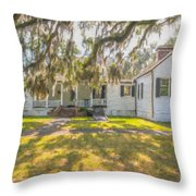 Charles Pickney Plantation Throw Pillow