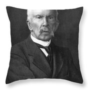 Charles R. Richet (1850-1935) Throw Pillow