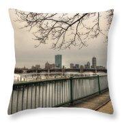 Charles River Charlesgate Yacht Club Throw Pillow