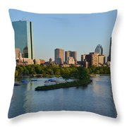 Charles River Reflection Throw Pillow