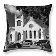 Charles W Drees Methodist Church Throw Pillow