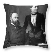 Charles Wentworth Dilke (1843-1911) Throw Pillow