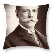 Charles Yerkes (1837-1905) Throw Pillow