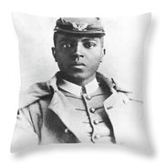 Charles Young (1864-1922) Throw Pillow