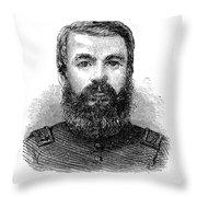 Charles Zagonyi (1826-?) Throw Pillow