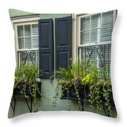 Charleston 13 Throw Pillow