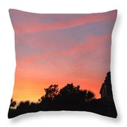 Charleston At Dusk Throw Pillow