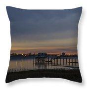Charleston At Night Throw Pillow