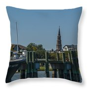 Charleston Charm Throw Pillow