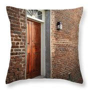 Charleston Door Throw Pillow