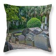Charleston Graveyard Throw Pillow