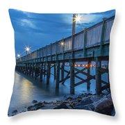Charleston Harbor 3 Throw Pillow
