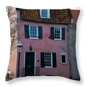 Charleston Historic District Throw Pillow
