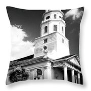 Charleston Layers Charleston Sc Throw Pillow