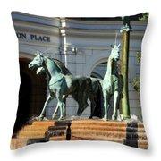Charleston Place Throw Pillow