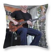 Charlie Hunter Throw Pillow