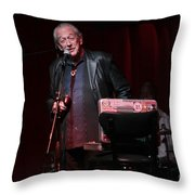 Charlie Musselwhite Throw Pillow