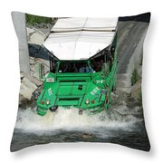 Charlie River Splash Down Throw Pillow