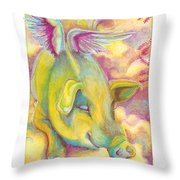 Charlie's Angel Throw Pillow