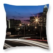 Charlotte Flow Throw Pillow