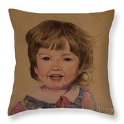 Charlotte Throw Pillow by Martin Howard