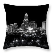 Charlotte Night Throw Pillow