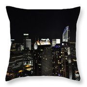 Charlotte Night Magic 2 Cnm2 P Throw Pillow