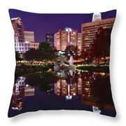 Charlotte Reflecting Throw Pillow